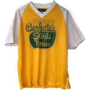 Swingster Shirts - Vtg. Barbata's Steak House baseball shirt